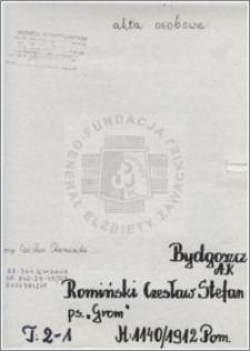 Romiński Czesław Stefan