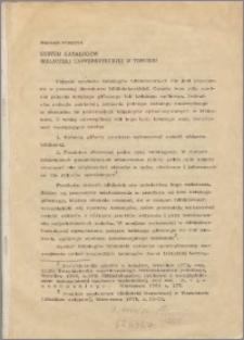System katalogów Biblioteki Uniwersyteckiej w Toruniu