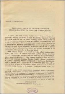 """""""Monumenta Regum Poloniae Cracoviensia"""" Michała Stachowicza w świetle korespondencji"""
