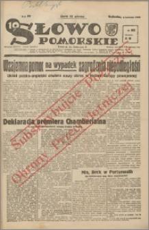 Słowo Pomorskie 1939.04.08 R.19 nr 82