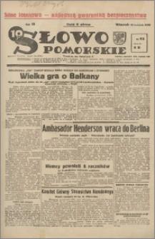 Słowo Pomorskie 1939.04.25 R.19 nr 95