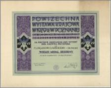 Dabiński Florjana z Grudziądza Wielki Medal Srebrny za kury karmazyny i Plymouth-Rocki