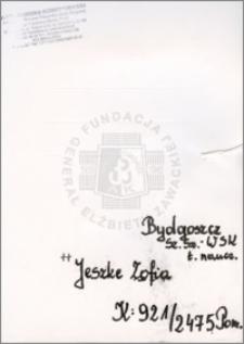 Jeszke Zofia