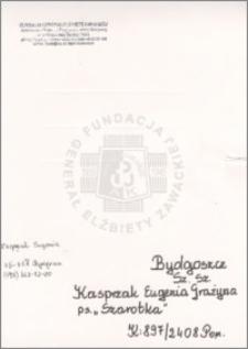 Kasprzak Eugenia Grażyna