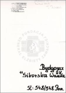 Sikorska Wanda