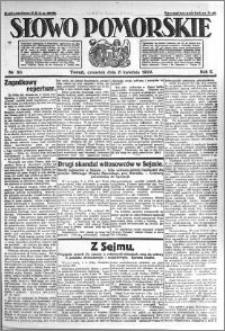 Słowo Pomorskie 1922.04.06 R.2 nr 80
