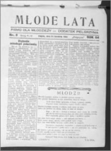 Młode Lata, R. 64 (1932), nr 3