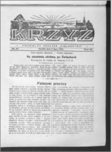 Krzyż, R. 64 (1932), nr 27