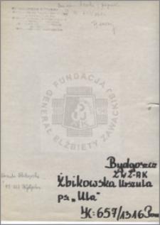 Żbikowska Urszula