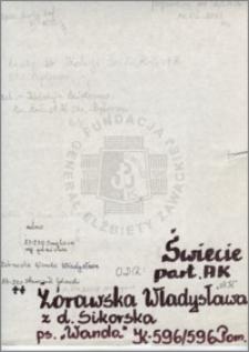 Żórawska Władysława