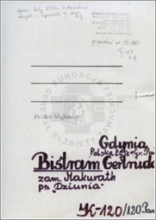 Bistram Gertruda
