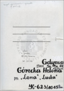 Górecka Helena