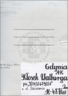 Kłosek Walburga