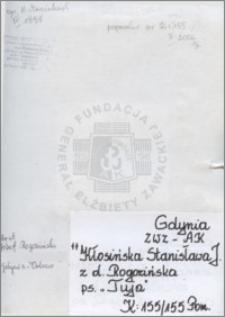 Kłosińska Stanisława