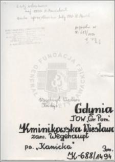 Kminikowska Wiesława