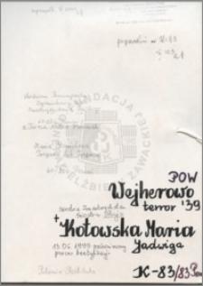 Kotowska Maria