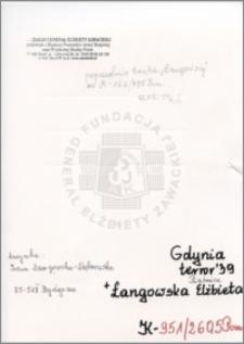 Łangowska Elżbieta