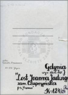 Lost Joanna Jadwiga