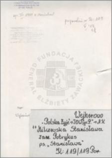 Milczewska Stanisława