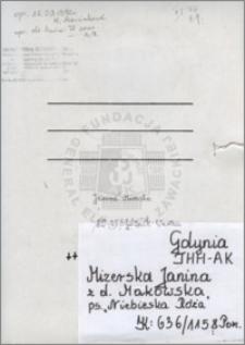 Mizerska Janina