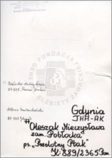 Oleszak Mieczysława