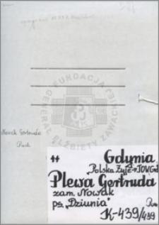 Plewa Gertruda