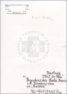 Pryczkowska Marta Maria