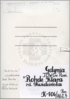 Rohde Klara