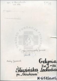 Śliwińska Leokadia