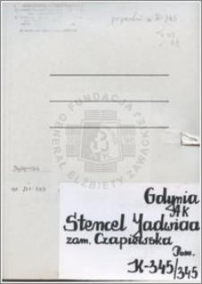 Stencel-Czapiewska Jadwiga