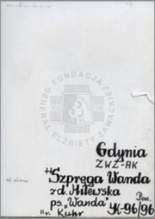 Szpręga Wanda