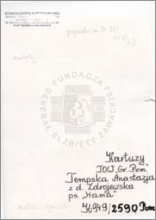 Tempska Anastazja