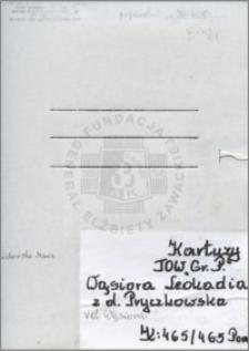 Wąsiora Leokadia