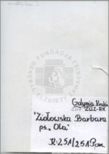 Ziołowska Barbara