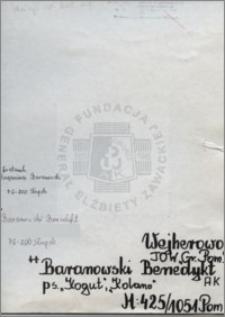 Baranowski Benedykt