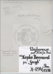 Kepke Bernard
