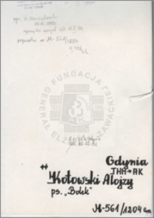 Kotowski Alojzy