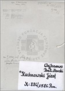 Kuchnowski Józef