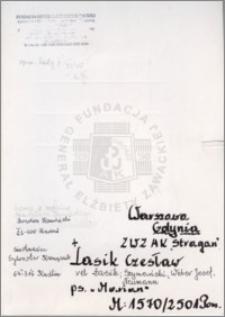 Lasik Czesław