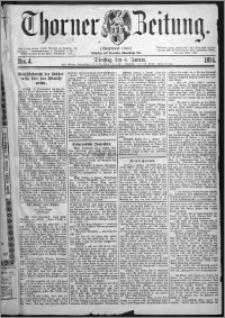 Thorner Zeitung 1874, Nro. 4
