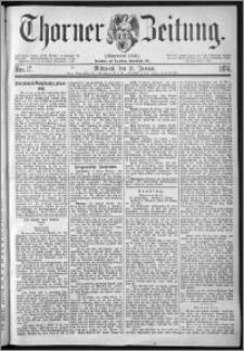 Thorner Zeitung 1874, Nro. 17