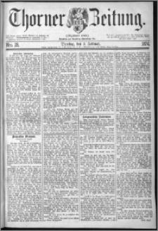 Thorner Zeitung 1874, Nro. 28