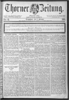 Thorner Zeitung 1874, Nro. 32