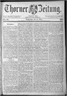Thorner Zeitung 1874, Nro. 60