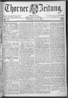 Thorner Zeitung 1874, Nro. 72
