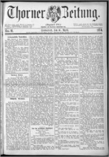 Thorner Zeitung 1874, Nro. 91