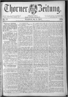 Thorner Zeitung 1874, Nro. 97
