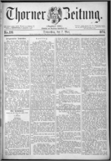 Thorner Zeitung 1874, Nro. 106