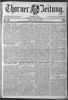 Thorner Zeitung 1874, Nro. 135