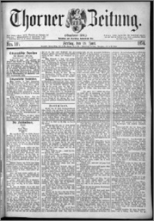 Thorner Zeitung 1874, Nro. 141